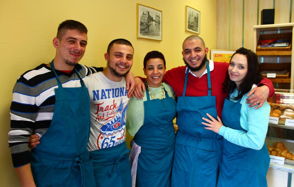das Cafe Francais Team