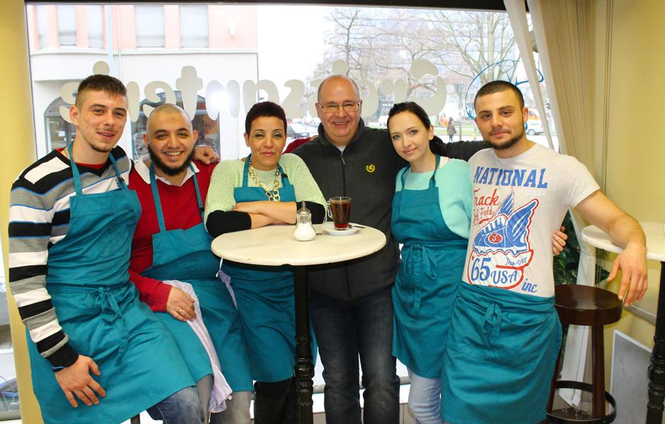 Cafe Francais Team
